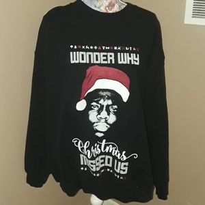merch sweaters notorious big wonder why christmas missed us